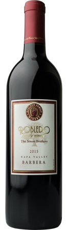 Robledo Family Winery Barbera Bottle Preview