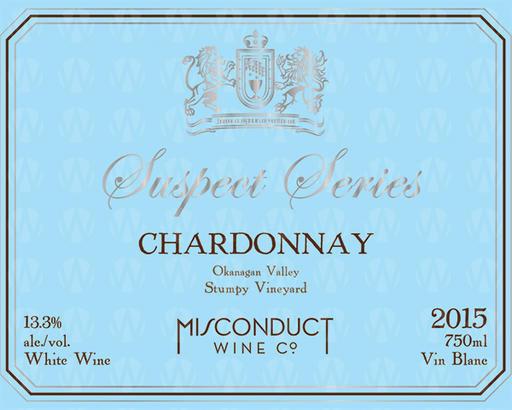 Misconduct Wine Co. Suspect Series Chardonnay