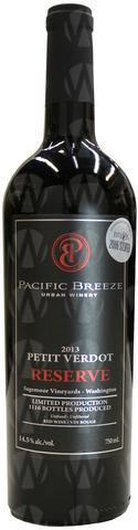 Pacific Breeze Winery Reserve Petit Verdot
