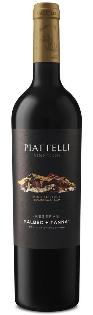 Piattelli Vineyards - Salta Piattelli Reserve Malbec & Tannat Bottle Preview