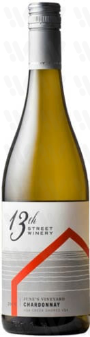 13th Street Winery June''s Vineyard Chardonnay