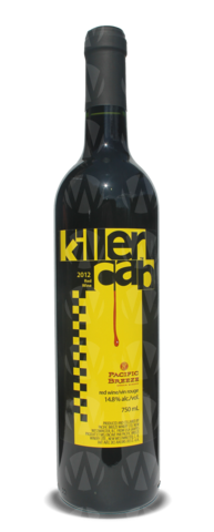 Pacific Breeze Winery Killer Cab