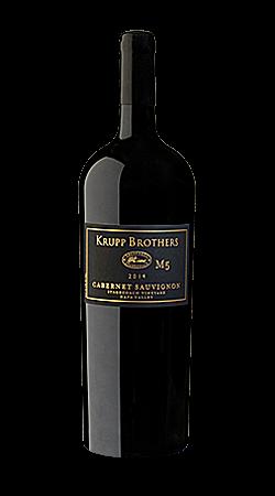 Krupp Brothers M5 Cabernet Sauvignon Bottle Preview