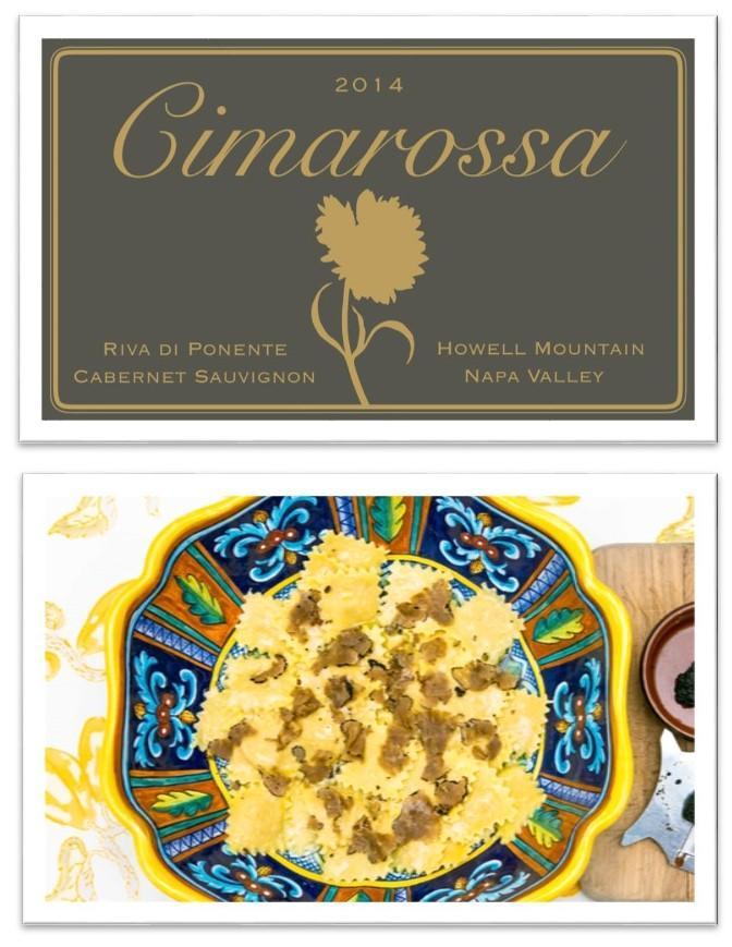 Cimarossa Wines Riva di Ponente Bottle Preview