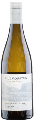 Blue Mountain Vineyard and Cellars Ltd. Sauvignon Blanc