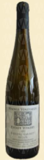 Deep Creek Wine Estate & Hainle Vineyards Hainle Riesling Kabinett Estate