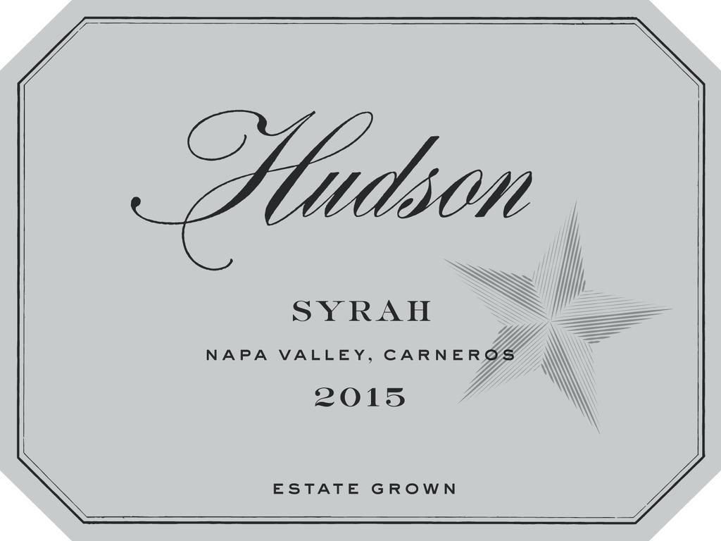 Hudson Syrah Bottle Preview