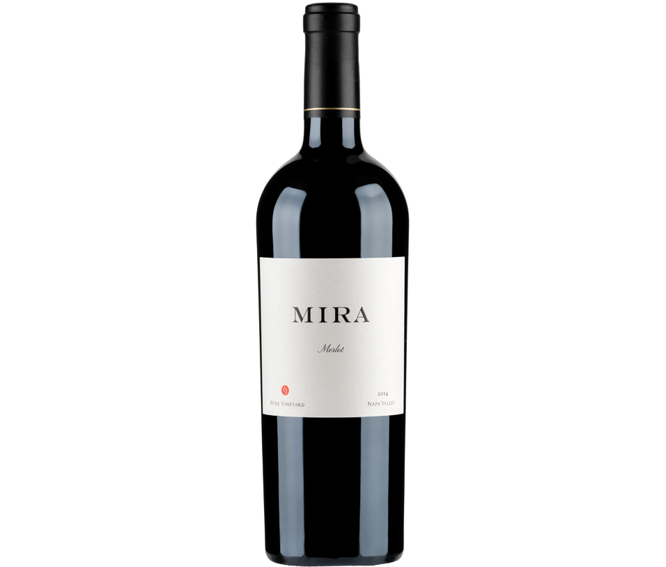 Mira Winery Merlot Bottle Preview