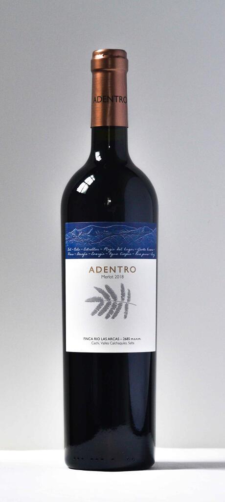 Vinos Adentro ADENTRO Merlot Bottle Preview