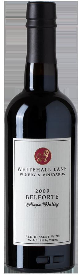 Whitehall Lane Winery Belforte, Dessert Wine, Napa Valley Bottle Preview