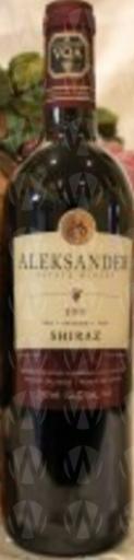 Aleksander Estate Winery Shiraz