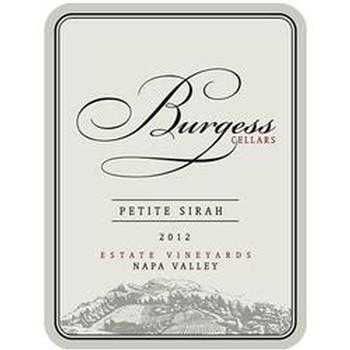 Burgess Cellars Petite Sirah Bottle Preview