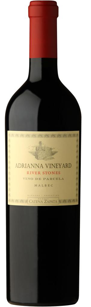 Adrianna Vineyard River Stones Malbec Bottle
