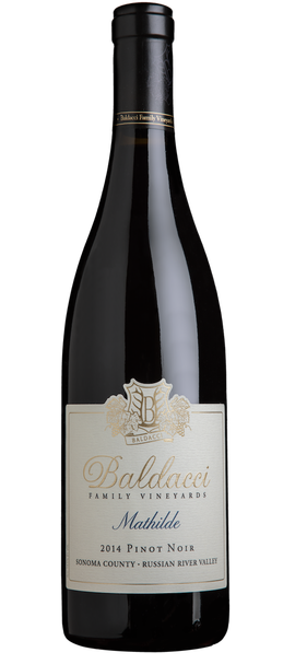 Baldacci Family Vineyards Mathilde Russian River Pinot Noir Bottle Preview
