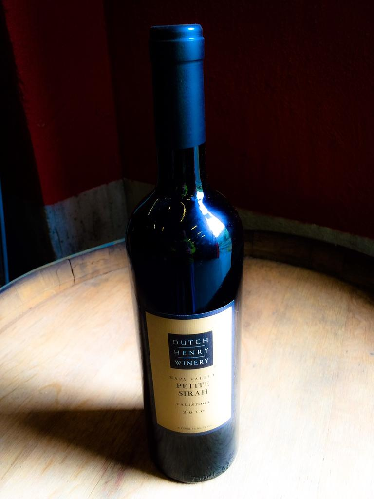 Dutch Henry Winery Dutch Henry Napa Valley Petite Sirah Bottle Preview