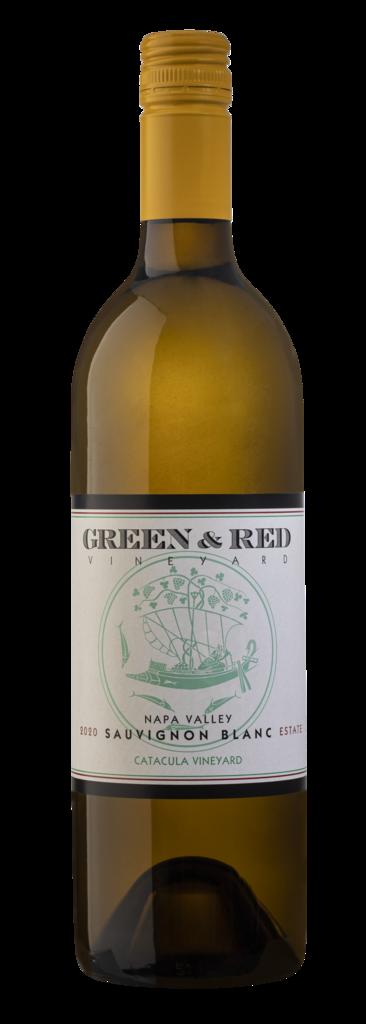 "Green & Red Vineyard Sauvignon Blanc ""Catacula Vineyard"" Estate Grown & Bottled Bottle Preview"