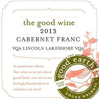 The Good Earth Vineyard and Winery Cabernet Franc