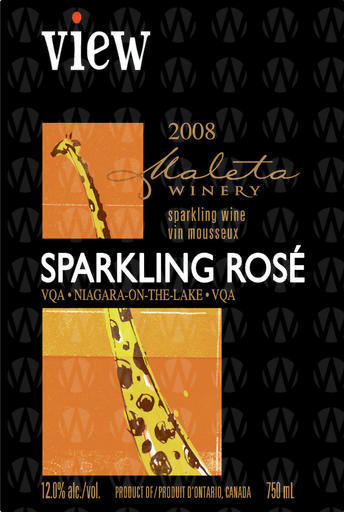 Maleta Estate Winery View Sparkling Rose