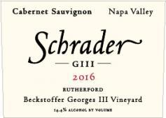 Schrader Cellars GIII Cabernet Sauvignon Bottle Preview
