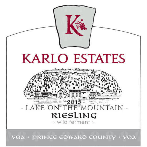 Karlo Estates Lake on the Mountain Riesling