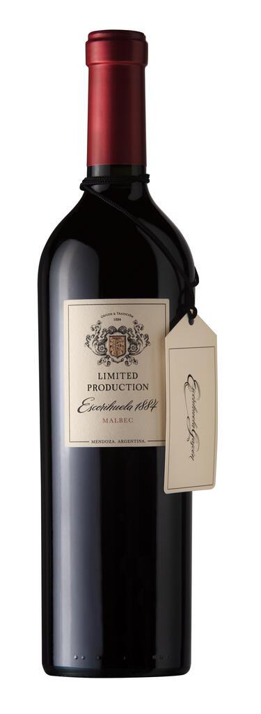 Escorihuela Gascón Escorihuela 1884 Limited Production - Malbec Bottle Preview