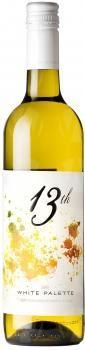 13th Street Winery White Palette