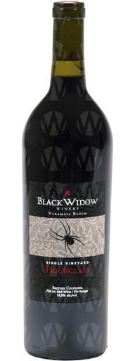 Black Widow Winery Hourglass