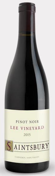 Saintsbury Lee Vineyard Pinot Noir Bottle Preview