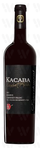 Kacaba Vineyards and Winery Reserve Cabernet Franc