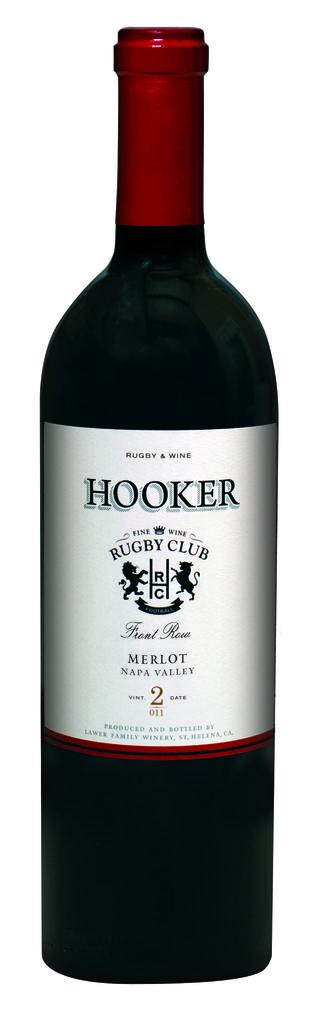 Hooker Front Row Merlot Bottle