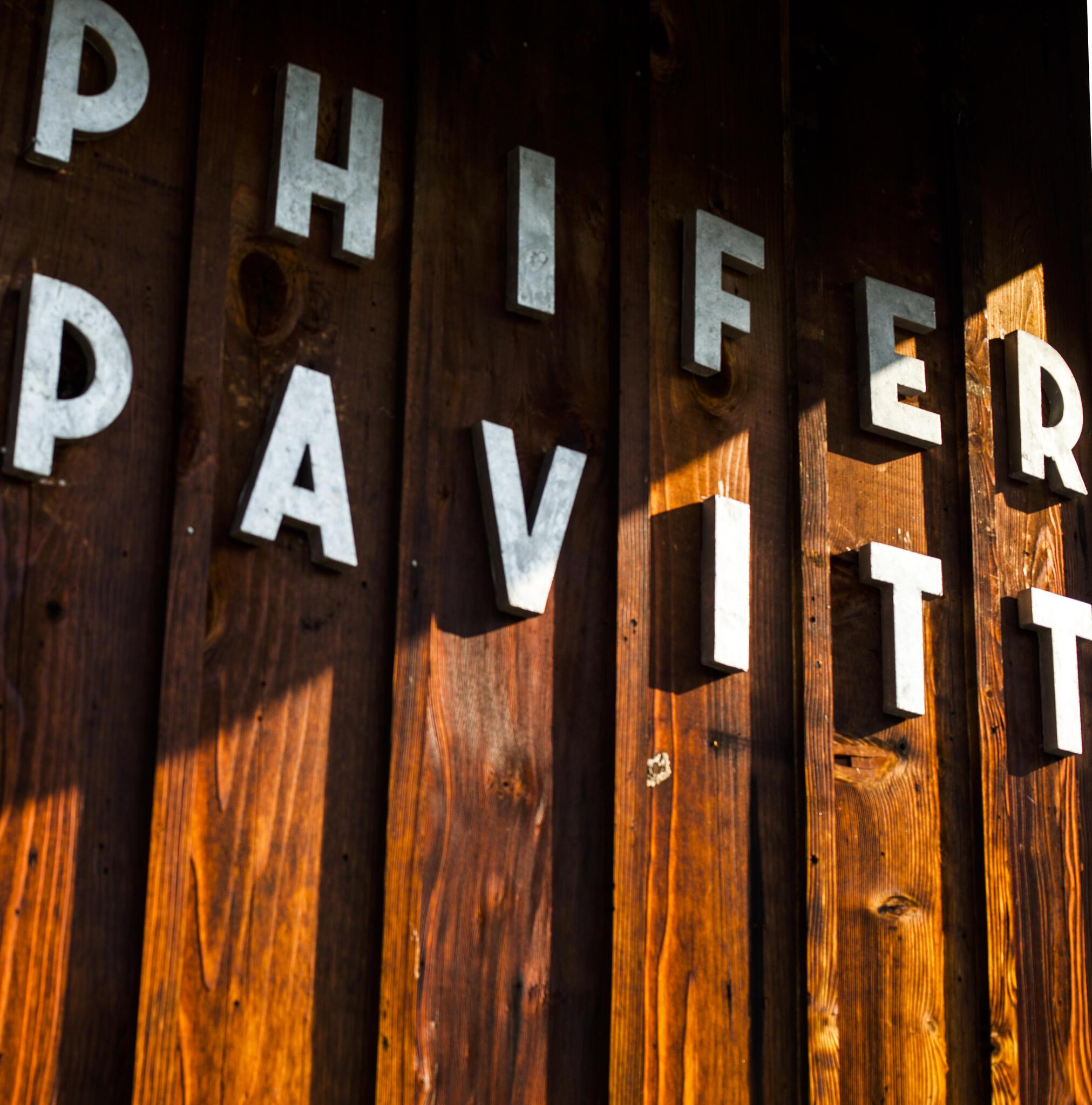 Phifer Pavitt Wine Cover Image