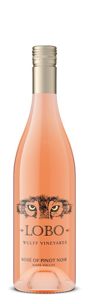 Lobo Wines Rosé of Pinot Noir Bottle Preview