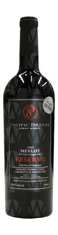 Pacific Breeze Winery Reserve Merlot