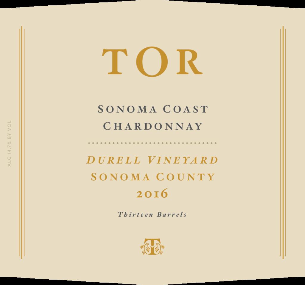 TOR Wines Durrel Vineyard Chardonnay Bottle Preview