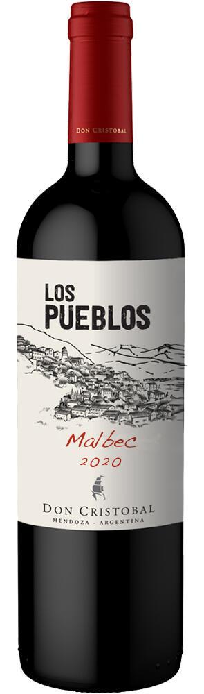 Los Pueblos Malbec Bottle