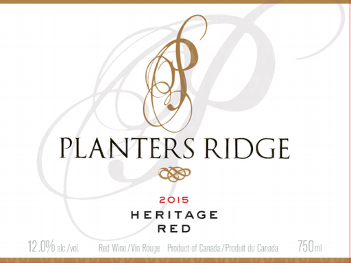 Planters Ridge Winery Heritage Red