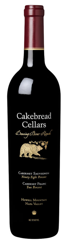Cakebread Cellars Dancing Bear Ranch Howell Mountain Bottle Preview