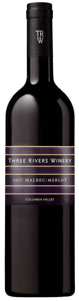Three Rivers Winery Malbec - Merlot Bottle Preview