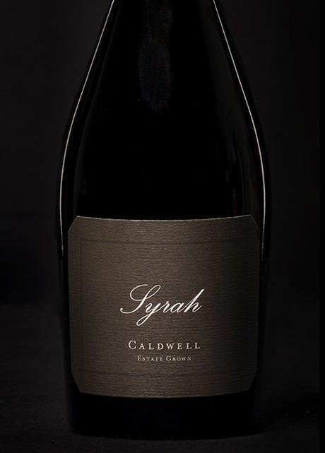 Caldwell Vineyard Syrah Bottle Preview