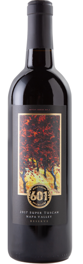 601 Cellars Super Tuscan Reserve Napa Valley Bottle Preview