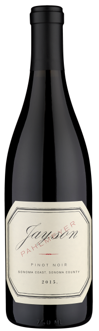Pahlmeyer Jayson Pinot Noir Bottle Preview
