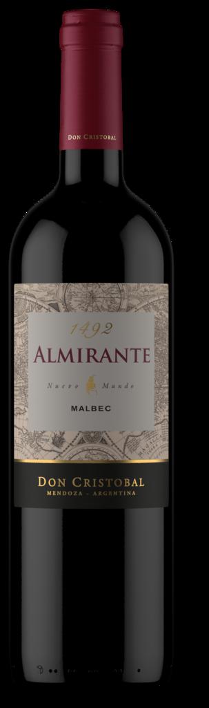 Bodega Don Cristobal Almirante Malbec Bottle Preview