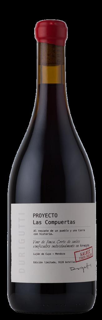 Durigutti Family Winemakers Proyecto Las Compuertas Malbec 5 Suelos Bottle Preview