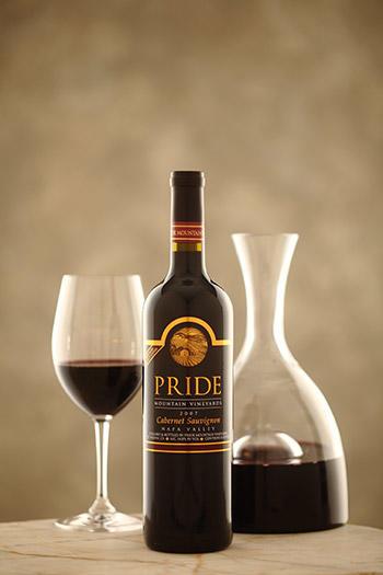 Pride Mountain Vineyards Vintner Select Cabernet Sauvignon Bottle Preview
