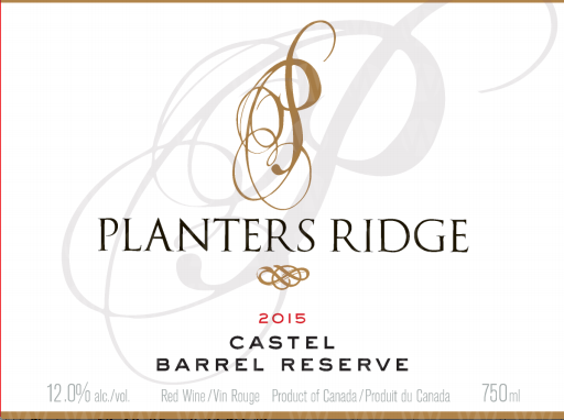 Planters Ridge Winery Castel Small Lot Barrel Reserve