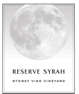 Balboa Winery Reserve Syrah Bottle Preview