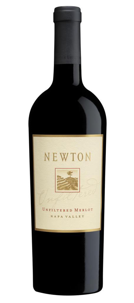 Newton Vineyard Unfiltered Merlot Bottle Preview