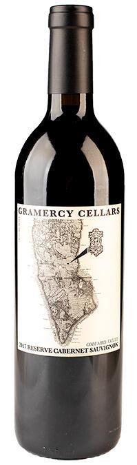 Gramercy Cellars Cabernet Sauvignon Reserve Bottle Preview