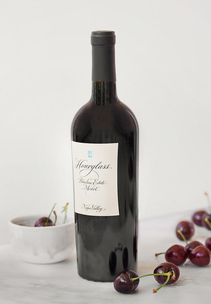 Hourglass Wine Co. Blueline Estate Merlot Bottle Preview