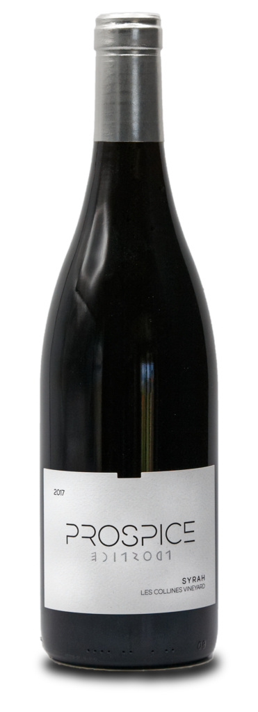 Prospice Wines Les Collines Vineyard Syrah Bottle Preview